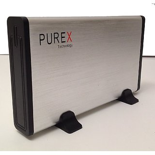 PUREX Technology USB3.0 to 3.5 Inch SATA External HDD Enclosure