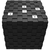 Top One Tech Magic Cube Rechargeable Portable Bluetooth Wireless Speaker With 3.5mm Audio Port For IPhones, IPads, Andro