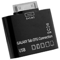C&E OTG Camera Connection Kit And USB Card Reader For Samsung Galaxy Tab (CNE95776)