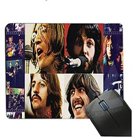 Vintage Band The Beatles Mouse Mats For PC Computer Laptop Notbook,ToyMP:80