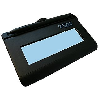 Topaz SignatureGem T-LBK462-B-R Backlit LCD Serial Signature Capture Pad