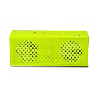Pure Acoustics HipBox-mini Wireless Portable Bluetooth Companion Speaker with Aux + FM Radio and Phone Call Handling - L