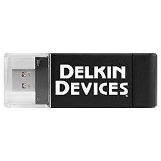 Delkin USB 3.0 Dual Slot SD & microSD Travel Reader (DDREADER-46)