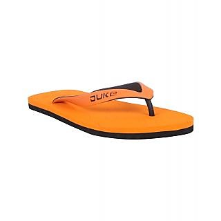 Duke Men Orange Slippers