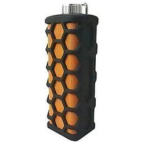 Portable Waterproof Outdoor/ Shower Wireless Bluetooth Speaker With Built-In Microphone (Black/Orange)