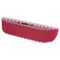 Aduro BeeBop Portable Wireless 10W Bluetooth Speaker With Built-in Speakerphone (Red Chevron)