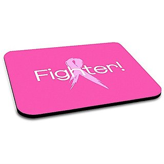 Insomniac Arts - Fighter Breast Cancer Mousepad