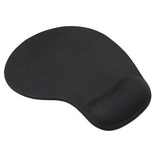 Jdbuy Comfort Wrist Gel Rest Support Mat Mouse Mice Pad (Black)