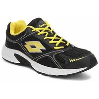 Lotto Trail Speed Ll Black And Yellow Sports Shoes F5R2597-3590