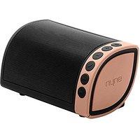 NYNE Multimedia Cruiser Portable Bluetooth Speaker (Black/Gold)