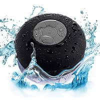 WETbeatz Waterproof Bluetooth Speaker, IPX4 Rating, Speakerphone With Built-in Mic, And Dedicated Suction Cup For Car, B