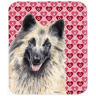 Carolines Treasures Belgian Tervuren Hearts Love & Valentines Day Mouse Pad/Hot Pad/Trivet (SC9247MP)