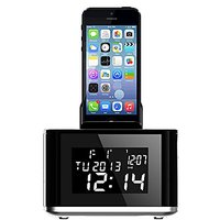 ALIBRO AJ-86 Portable Wireless Bluetooth Mini High-Def Sound Speaker With Bluetooth, FM Radio And 2 Alarm Clock Function