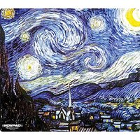 """WOW!PAD 7.5"""" X 8.5"""" Masters Series Mouse Pad--Starry Night By Van Gogh ( 78MS81-002 )"""