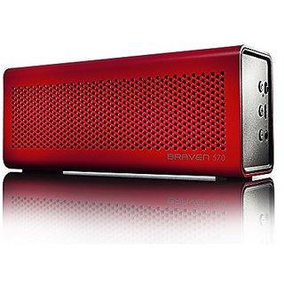 Braven 570 Portable Wireless Speaker - Retail Packaging - Red