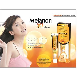 Melanon XL Cream for dark spots (set of 4 pcs.) 20 gm each