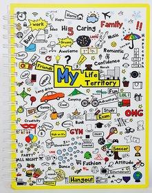 My Life My Territory B5 Hard Bind (150pgs)
