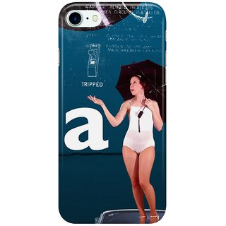 Dreambolic TRIPPED A GIRL Back Cover for Apple iPhone 7