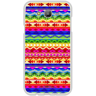 ifasho multi color Triangular and circle Pattern Back Case Cover for Samsung Galaxy On 5