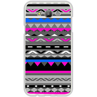 ifasho multi color Triangular and circle Pattern Back Case Cover for Samsung Galaxy On 5Pro