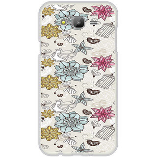 ifasho Animated Pattern colrful design flower and cage and hen Back Case Cover for Samsung Galaxy On 5Pro