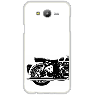 ifasho Royal Bike Back Case Cover for Samsung Galaxy On 5