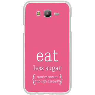 ifasho Motivational Quote sweet Back Case Cover for Samsung Galaxy On 5