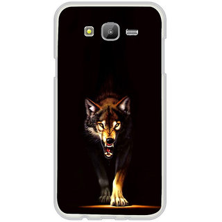 ifasho Angry Wolf Back Case Cover for Samsung Galaxy On 5