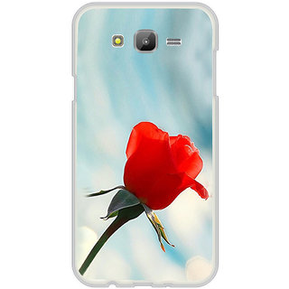 ifasho Red Rose Back Case Cover for Samsung Galaxy On 5