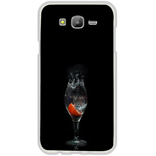 ifasho Rose in water glass with Drop of water Back Case Cover for Samsung Galaxy On 5