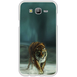 ifasho Leopard resting Back Case Cover for Samsung Galaxy On 5
