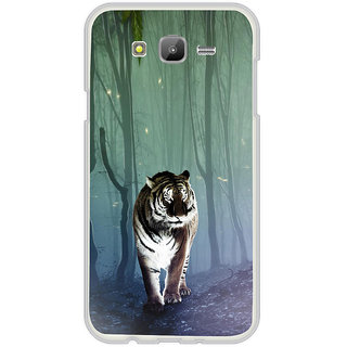 ifasho Animated Pattern With Tiger Back Case Cover for Samsung Galaxy On 5