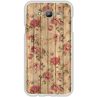 ifasho Modern Art Design painted flower on wood Back Case Cover for Samsung Galaxy On 5