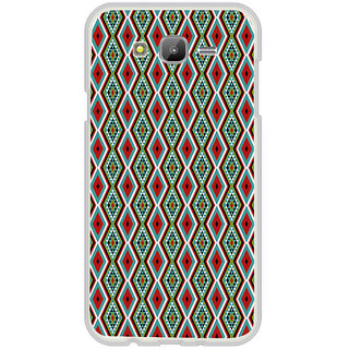 ifasho Animated Pattern colrful traditional design Back Case Cover for Samsung Galaxy On 7