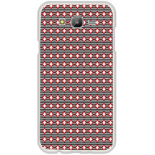 ifasho Animated Pattern of diagonal on black stripes  Back Case Cover for Samsung Galaxy On 7