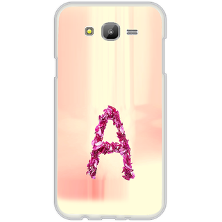 ifasho alphabet name series A Back Case Cover for Samsung Galaxy On 7
