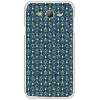 ifasho Animated Pattern design colorful flower in royal style Back Case Cover for Samsung Galaxy On 7
