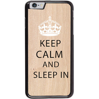 Ayaashii Sleep In  Back Case Cover for Apple iPhone 6