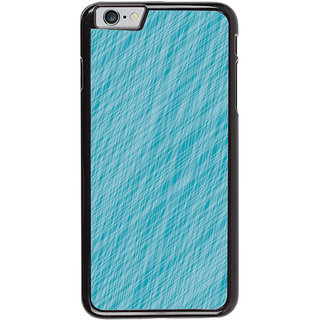 Ayaashii Blue Colored Pattern Back Case Cover for Apple iPhone 6