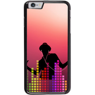 Ayaashii Music Lovers Back Case Cover for Apple iPhone 6