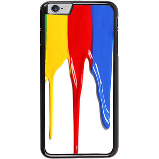 Ayaashii Colorful Paints Back Case Cover for Apple iPhone 6