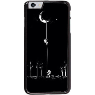 Ayaashii Astronauts Are Climbilng To Moon  Back Case Cover for Apple iPhone 6