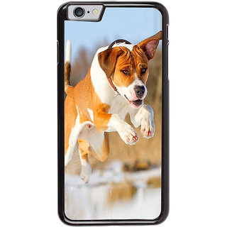 Ayaashii Dog Was Jumping Back Case Cover for Apple iPhone 6