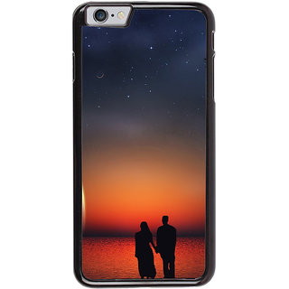 Ayaashii Romantic Couple Back Case Cover for Apple iPhone 6