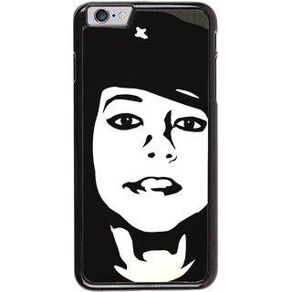 Ayaashii Brave Girl Back Case Cover for Apple iPhone 6