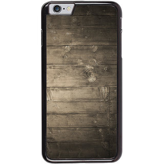 Ayaashii Wood Shaded Layer Back Case Cover for Apple iPhone 6
