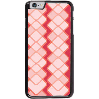 Ayaashii Square Pattern Back Case Cover for Apple iPhone 6