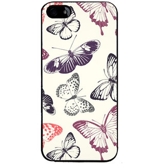 Ayaashii Butterfly Pattern Back Case Cover for Apple iPhone 5::Apple iPhone 5S