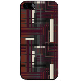 Ayaashii Lines Abstract Back Case Cover for Apple iPhone 5::Apple iPhone 5S