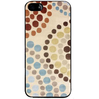 Ayaashii Circle Drop Painting Back Case Cover for Apple iPhone 5::Apple iPhone 5S